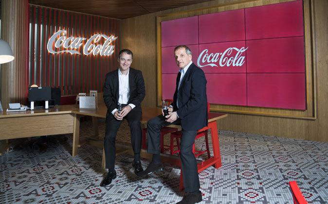 Juan Ignacio de Elizalde, director general de Coca-Cola Iberia y...