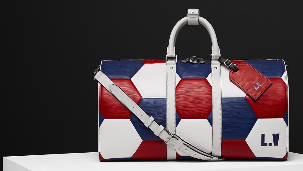 Balón-bolsa de Louis Vuitton diseñado con motivo del Mundial de...