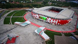 Otkrytie Arena, donde juega el equipo local de fútbol.
