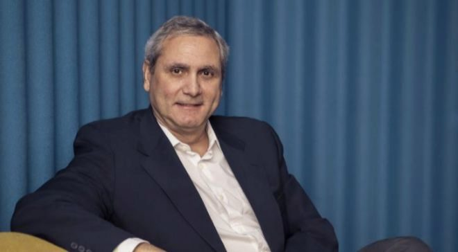 Juan Carlos Fernández, en las oficinas de HomeAway en Madrid, donde...