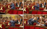 Fotografías del portavoz del grupo parlamentario de Ciudadanos,...