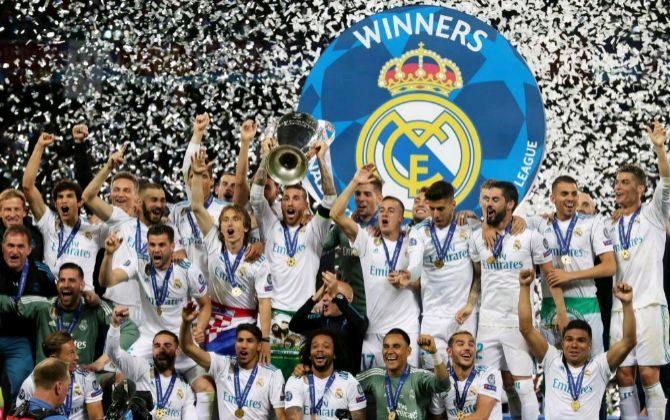 El Real Madrid consigue su decimotercera Copa de Europa