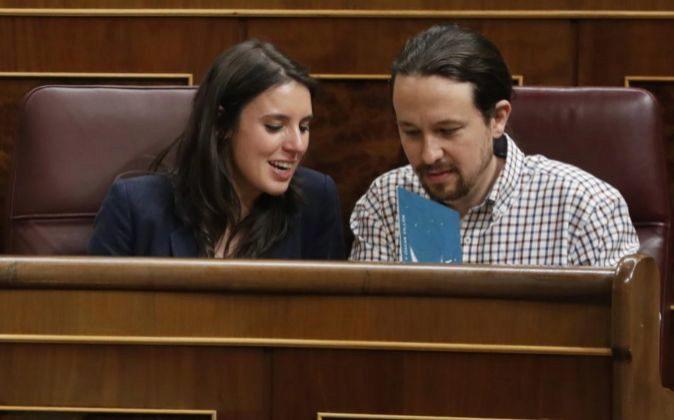 Podemos resuelve hoy su liderazgo con Espa�a pendiente de la moci�n del PSOE