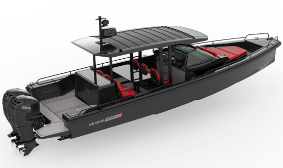 Axopar Brabus Shadow 800 El 39 Tuning 39 M S Exclusivo Se Estrena En El Agua