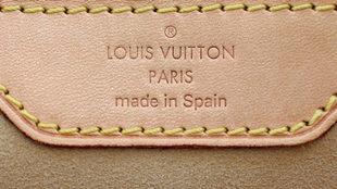 Bolso Louis Vuitton hecho en España.