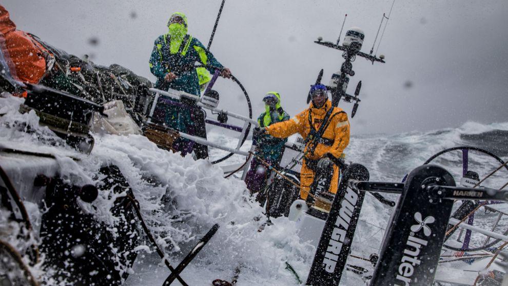RÉCORD EN LA VOLVO OCEAN RACE. El pasado 25 de mayo, durante la...