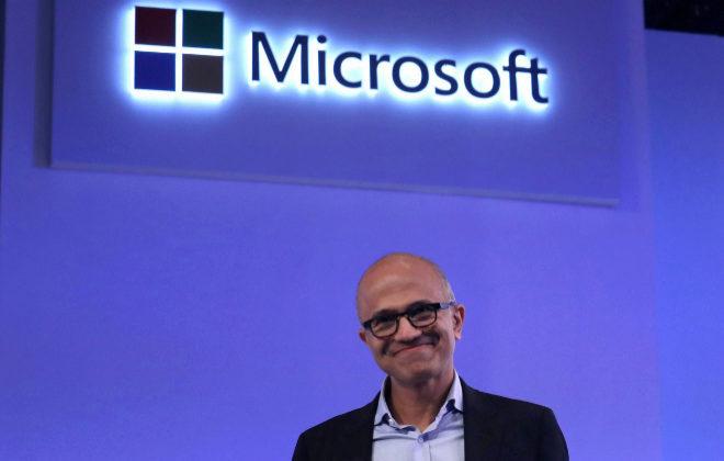 Satya Nadella,CEO de Microsoft.