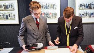 Huntsman & Sons es una de las sastrerías de referencia de Savile...