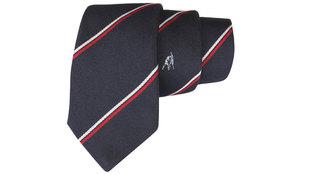 Detalle de la corbata de la francesa Cinabre que reproduce el...