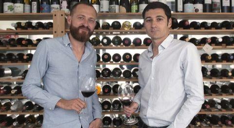 Greg Bulckaert y Nathanaël Berbessou, cofundadores de la tienda...