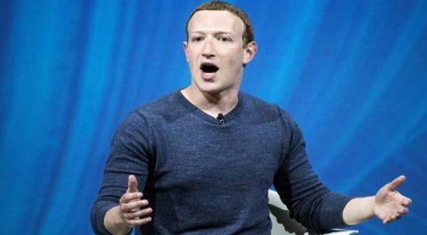 El fundador y CEO de Facebook Mark Zuckerberg.