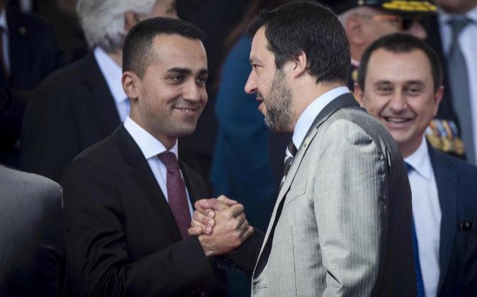 Giuseppe Conte obtiene la confianza en el Senado en Roma