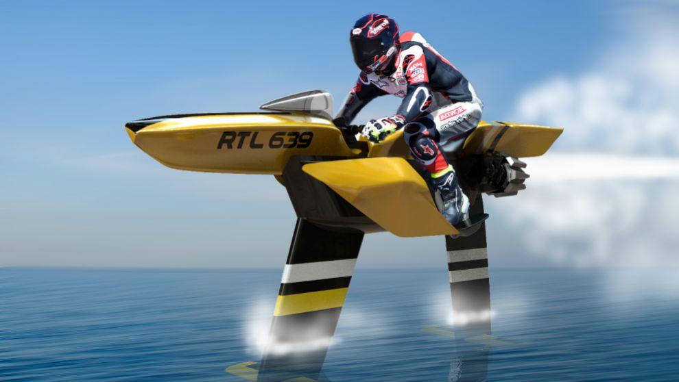 El Vector, la moto de agua que supera los 100 km/h.