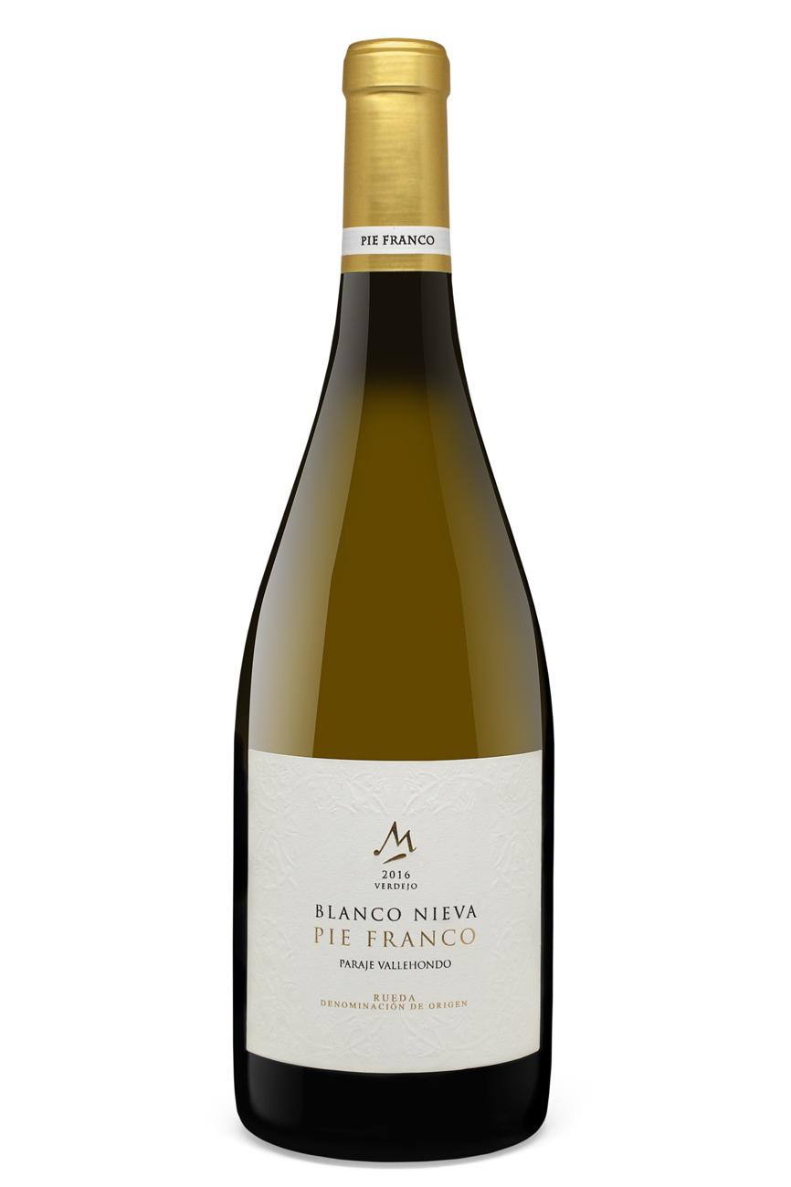 3- Pie Franco Paraje Vallehondo 2016. Vino Blanco, Blanco Nieva D.O. Rueda. 75 cl. PVP: 15,60 euros.