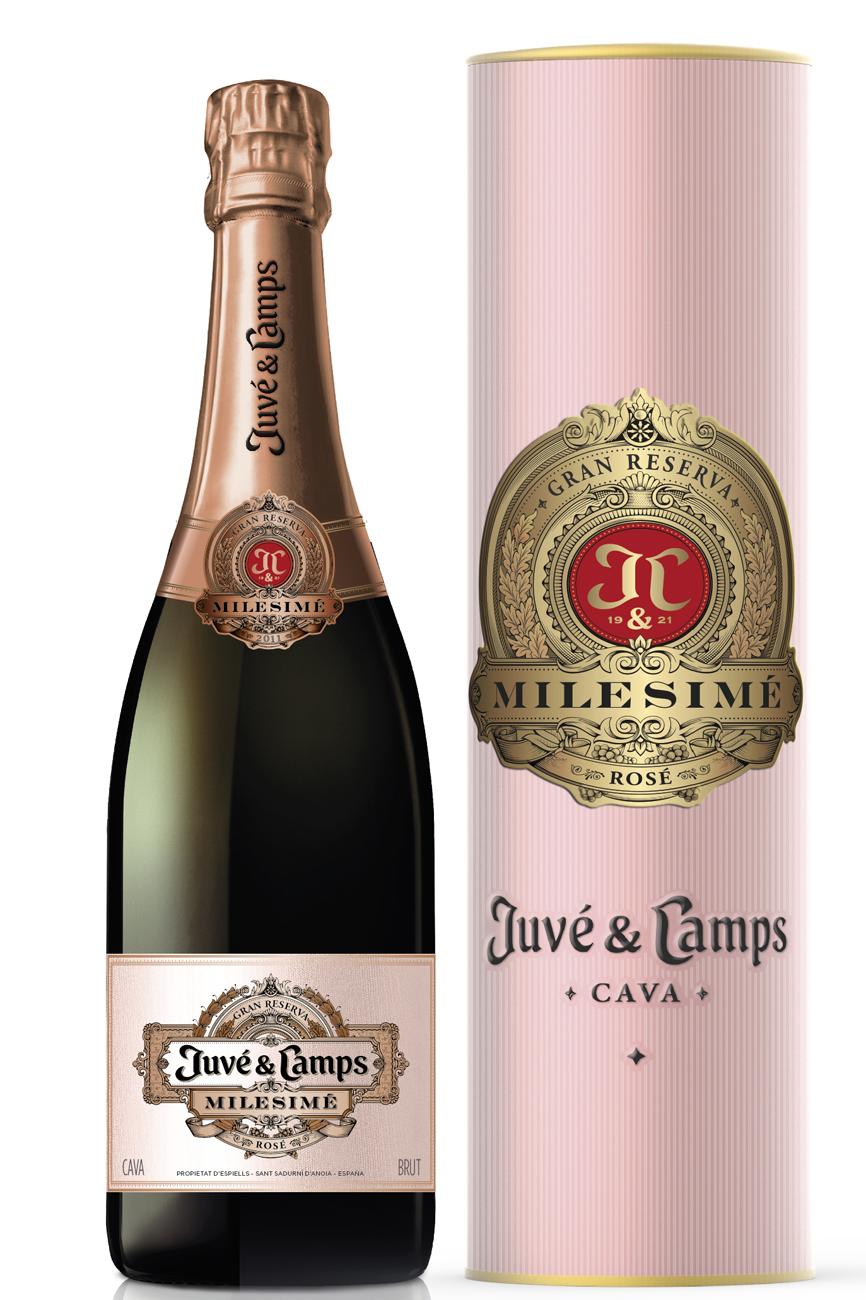 5- Milesimé Rosé 2011. Vino Espumoso, Juvé & Camps D. Cava. 75 cl. PVP: 32,00 euros.