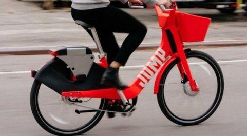 Uber adquirió la compañía de bicicletas compartidas Jump el pasado...