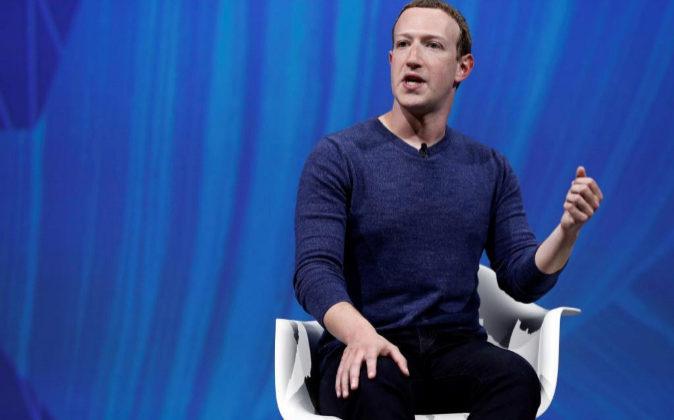 Mark Zuckerberg, fundador y primer ejecutivo de Facebook.
