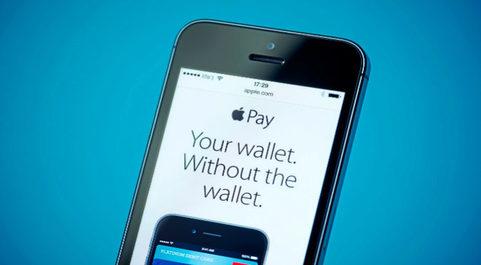 Aplicación de Apple Pay.