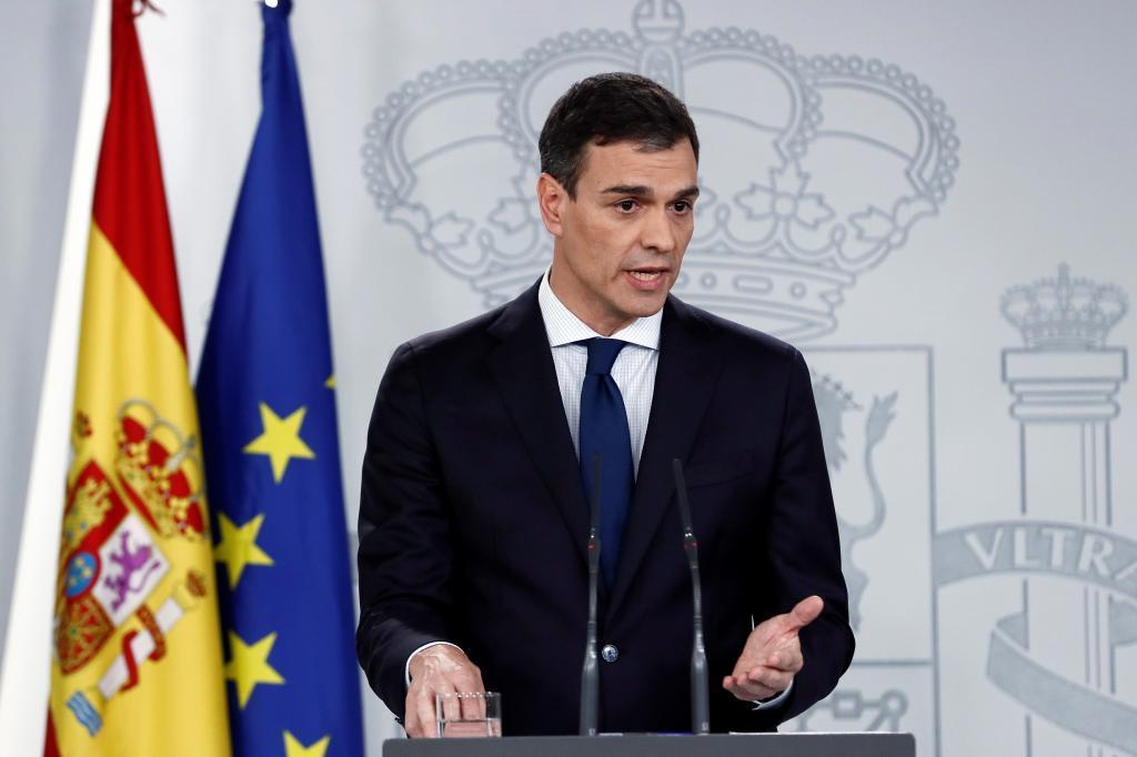Pedro Sánchez anunciaba los 17 ministros que, en palabras del nuevo...