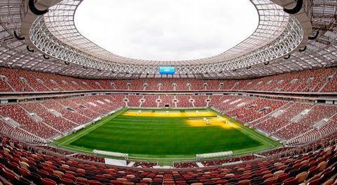 El Gran Estadio Olímpico Luzhnikí de Moscú, antiguo Estadio Central...