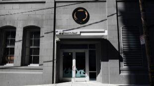 Oficina de Github enSan Francisco, California.