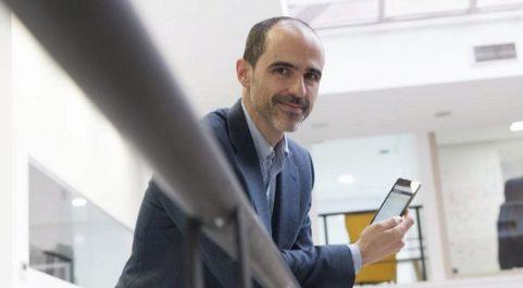 El profesor Luis Álvarez, cofundador de Task&Time.