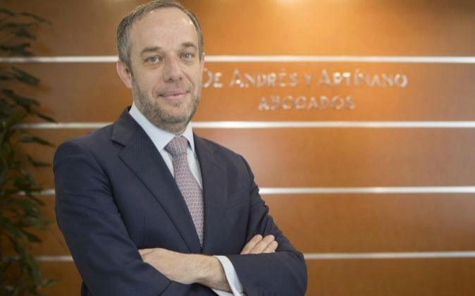 Pablo Gomez-Acebo, socio de De Andrés y Artiñano Abogados.