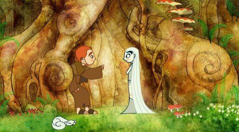 El secreto del libro de Kells es una de las películas de animación...