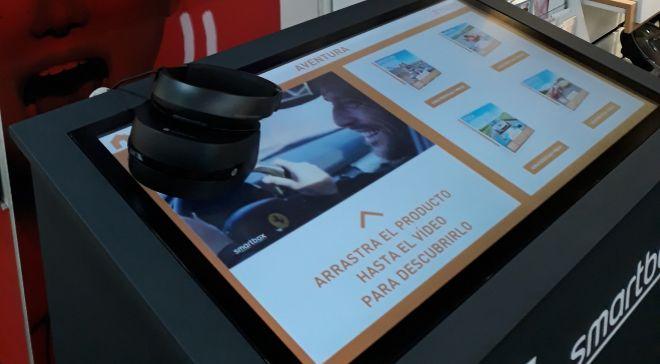 Imagen de la solución de realidad virtual, aplicada a la venta de...