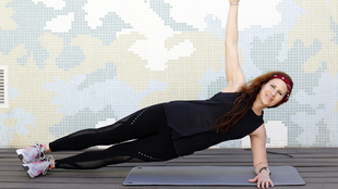 Carola Prato, la sargento de hierro fitness.