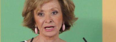 La exvicepresidenta del Gobierno María Teresa Fernández de la Vega.