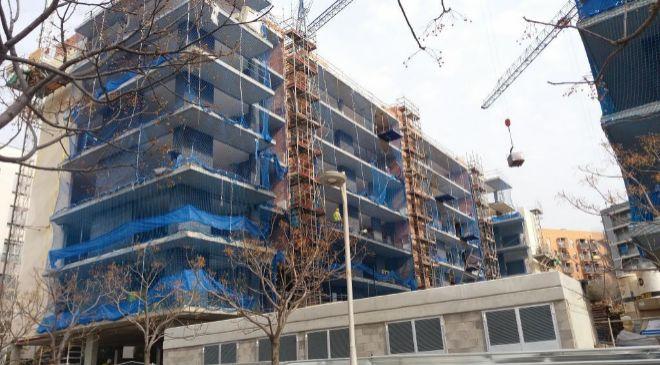 Construcción de viviendas en Sant Feliu de Llobregat (Barcelona)
