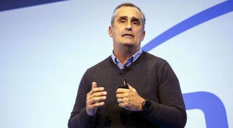 Brian Krzanich, consejero delegado de Intel.