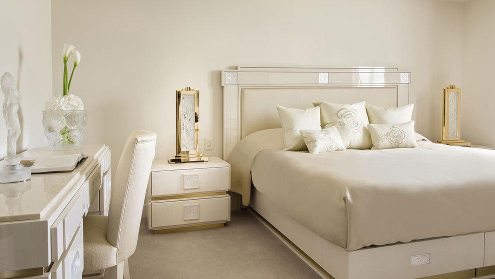 El exclusivo hotel francés de lujo Villa René Lalique, emplazado en...