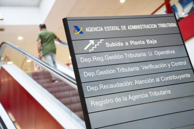 Delegación de la Agencia Tributaria de Guzmán el Bueno en Madrid.