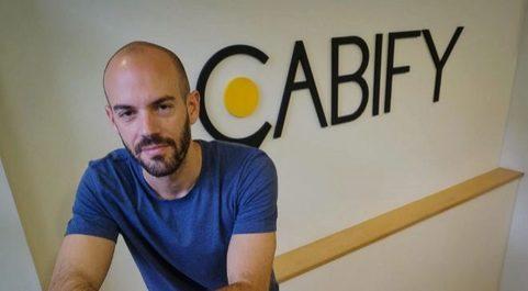 Juan de Antonio de Cabify, CEO de Maxi Mobility Spain.