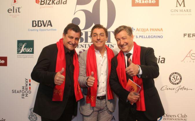 Los 13 restaurantes españoles en el 'top 100' mundial