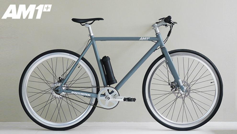 Imagen de la ligera bicicleta AM1.