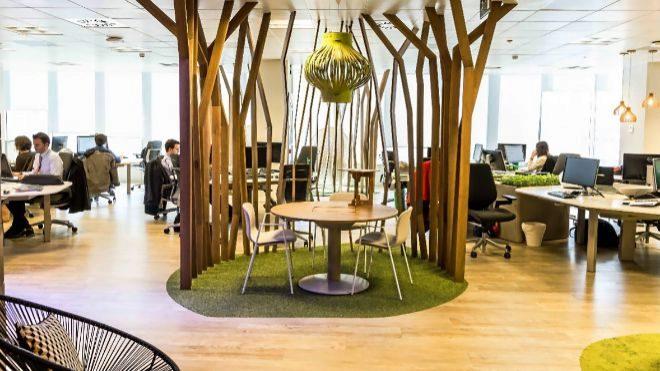 La oficina saludable aumenta un 49% la productividad
