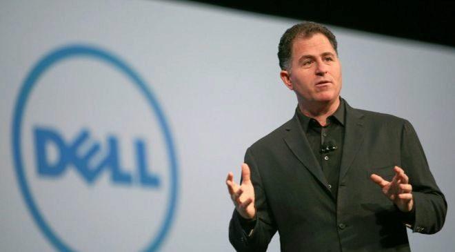 Michael Dell, fundador de la compañía.