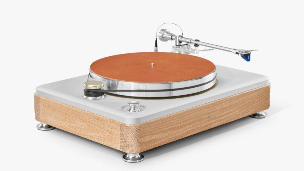 El exclusivo tocadiscos Shinola Runwell Turntable es 100% made in...