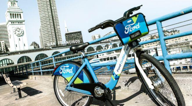 Bicicleta de Motivate en San Francisco (Estados Unidos).