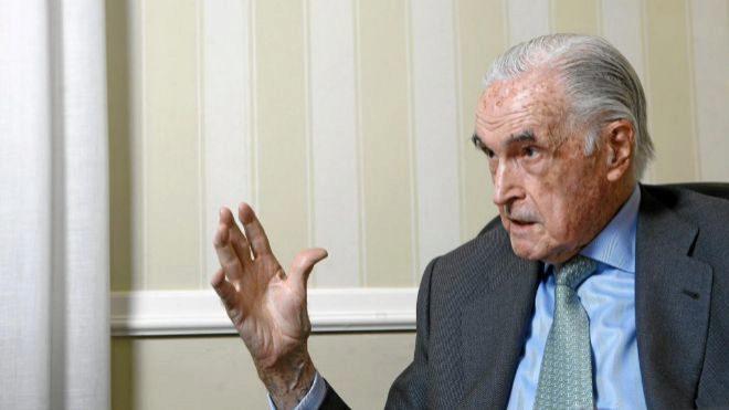 Fallece el exgobernador del Banco de España José María López de Letona
