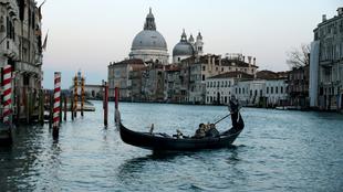 Vista de la Iglesia de San Marcos, Venecia. Italia.