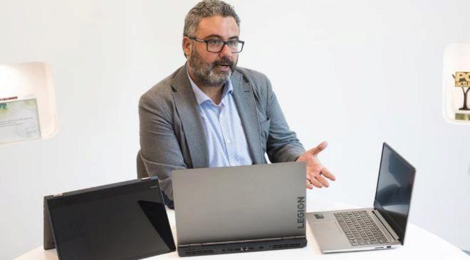 Miguel Hernández, director de Producto de Lenovo en España y...