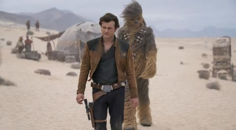 Imagen de 'Han Solo: Una historia de Star Wars', producida...