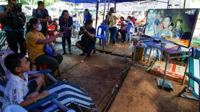 Los primeros menores rescatados recibirán el alta el domingo — Rescate en Tailandia