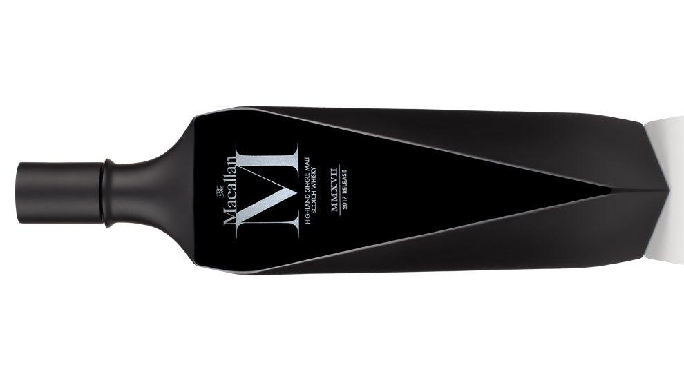 El porfolio más exclusivo: sólo hay 725 botellas de cristal negro de...