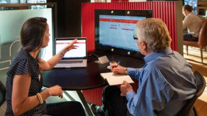 Santander abre en madrid su nuevo concepto de oficina for Oficina santander madrid