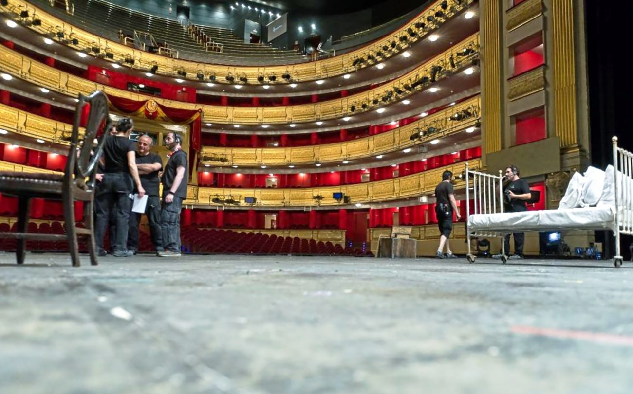 Así es el Teatro Real detrás del telón.